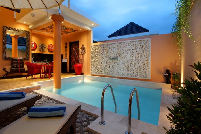 Villa Lollie Seminyak 1 Kamar Tidur Dekat Pantai