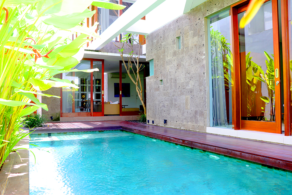 2 Unit Villa 3 Kamar dengan Pool dan View Sawah di Ubud