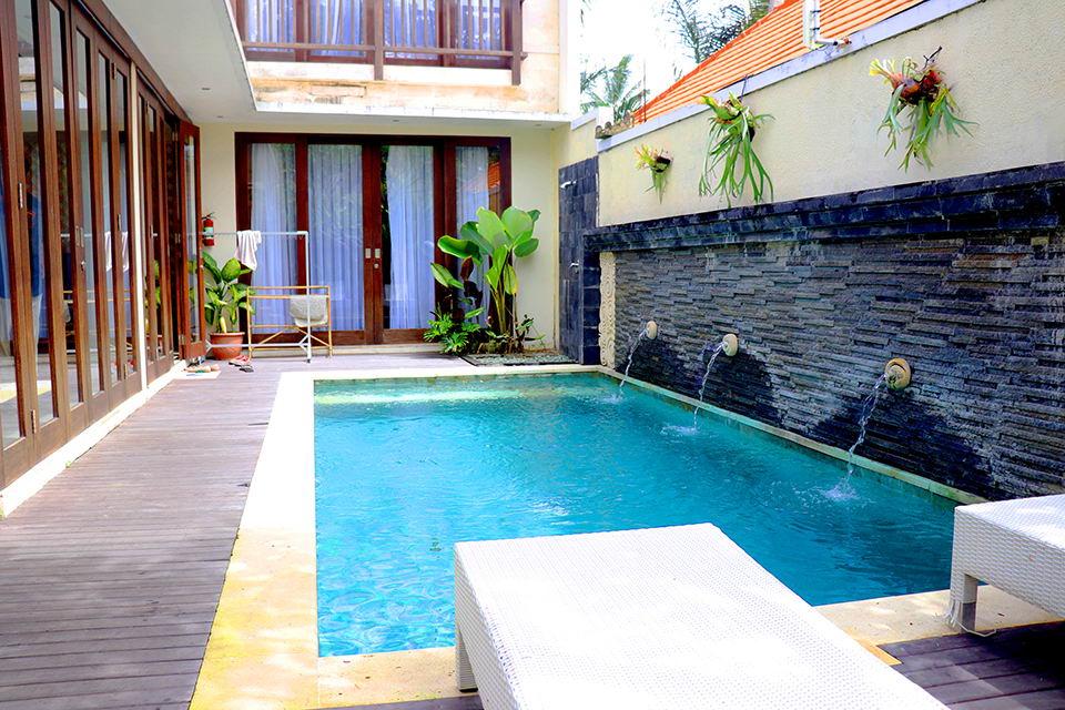 2 Unit Villa dengan 2 Kamar Tidur dan Private Pool di Ubud