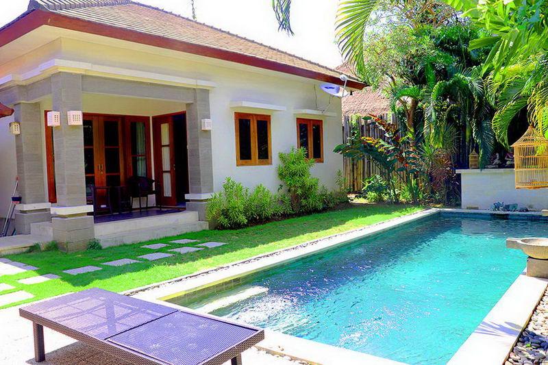 Villa 2 Kamar Tidur dengan Kolam Renang di Sanur