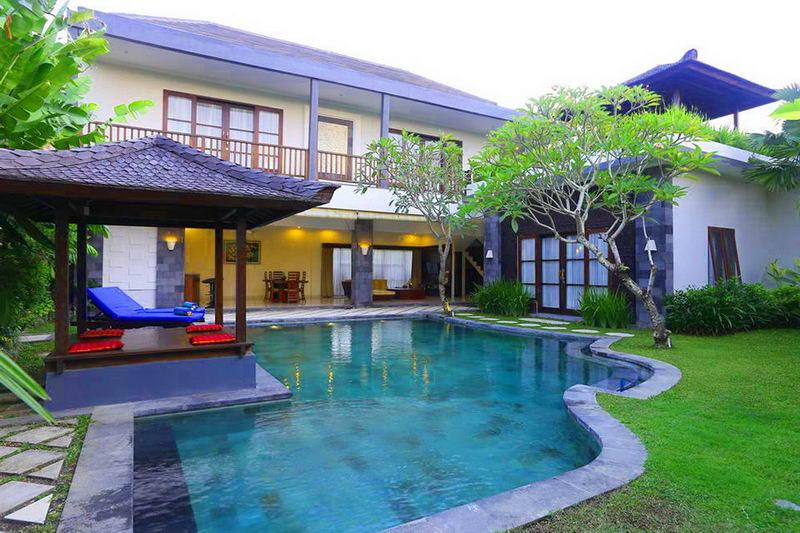 Villa 3 Kamar Dengan Private Pool Dekat Echo Beach Canggu