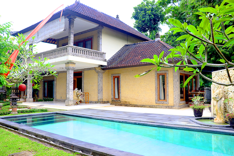 Villa di Ubud dengan 3 Kamar Tidur dan Kolam Renang